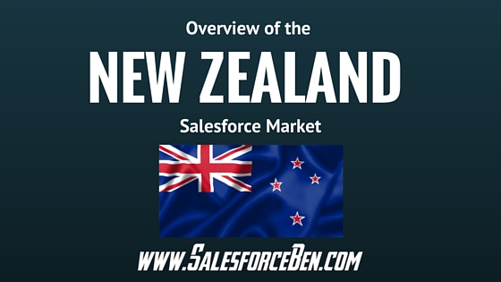 Overview of the New Zealand Salesforce Market