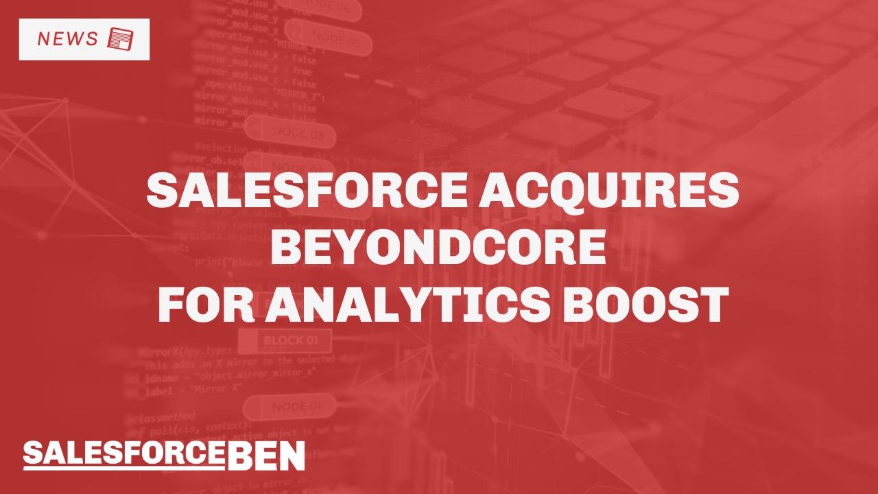 Salesforce Acquire BeyondCore