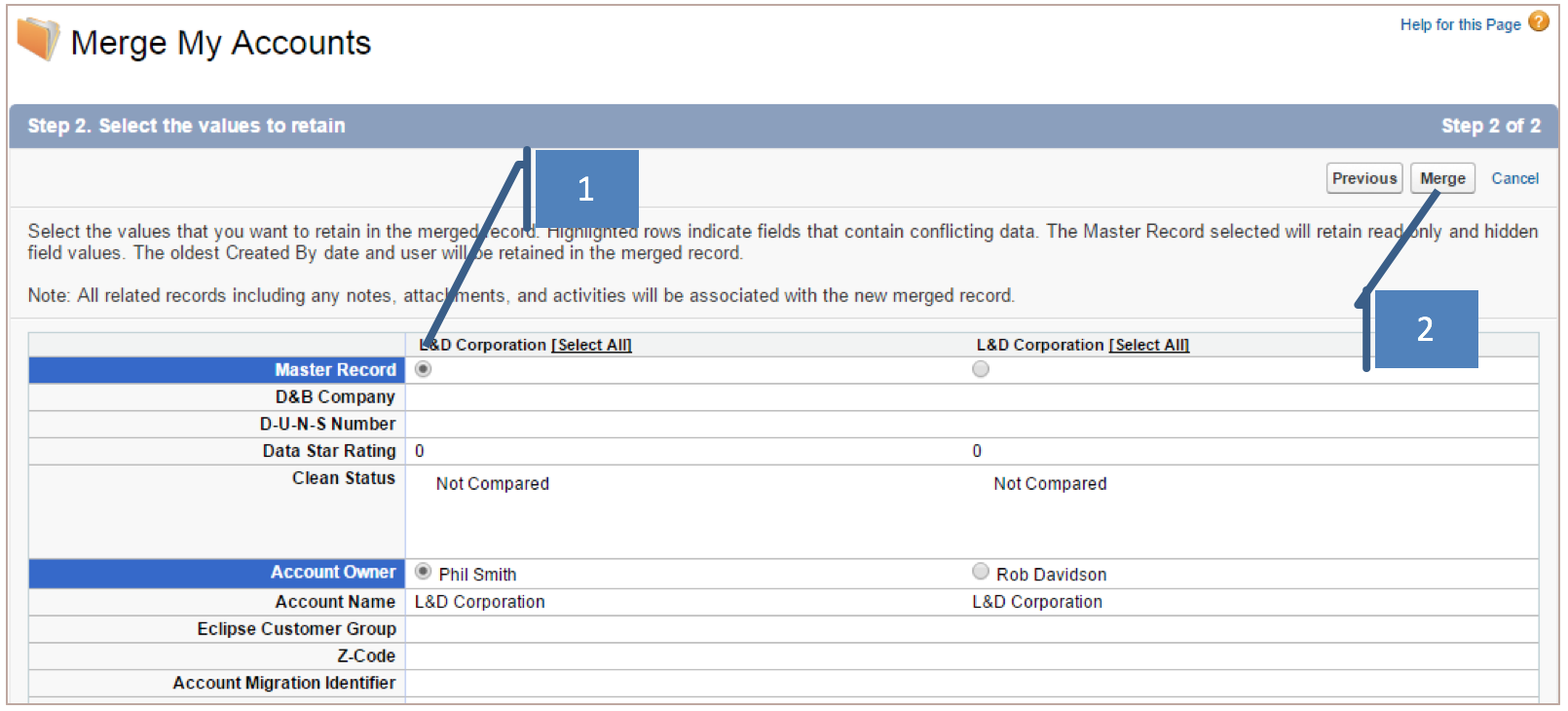 Back to Basics: Account & Contact Record Merging - Salesforce Ben