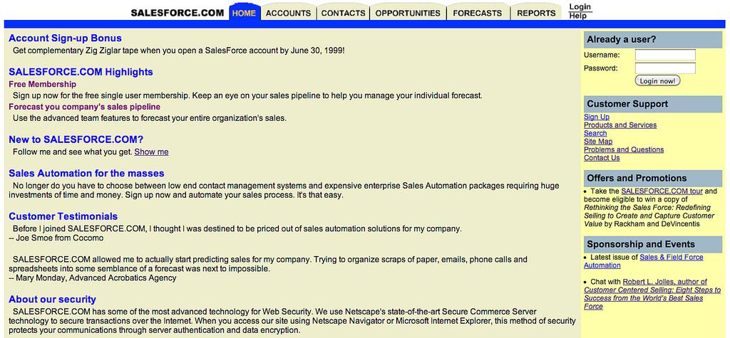 A Brief History Of Salesforce com - Salesforce Ben