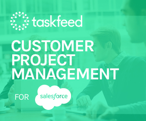 Taskfeed project management for salesforce