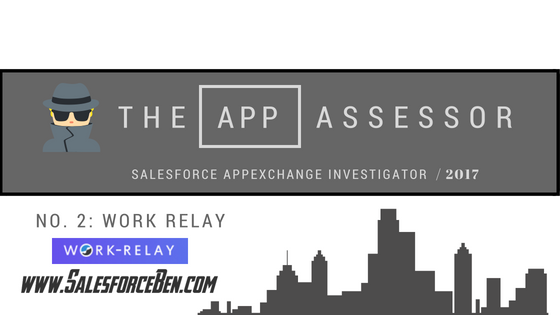 The AppAssessor #2: Work Relay In-Depth Review