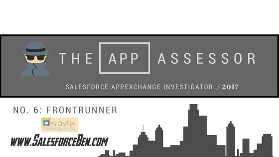The AppAssessor #6: FrontRunner