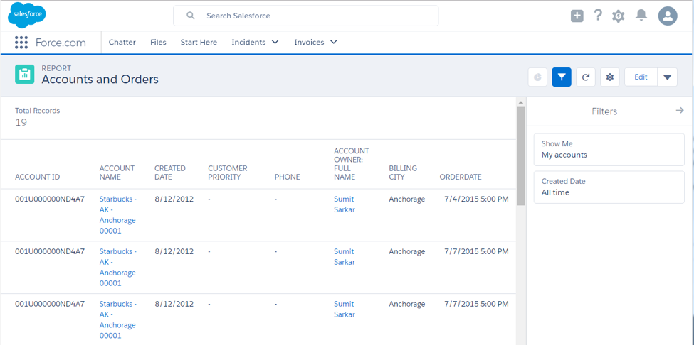 Salesforce External Object Reports using OData - Salesforce Ben