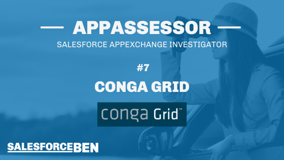 Conga ActionGrid In-Depth Review [The AppAssessor #7]