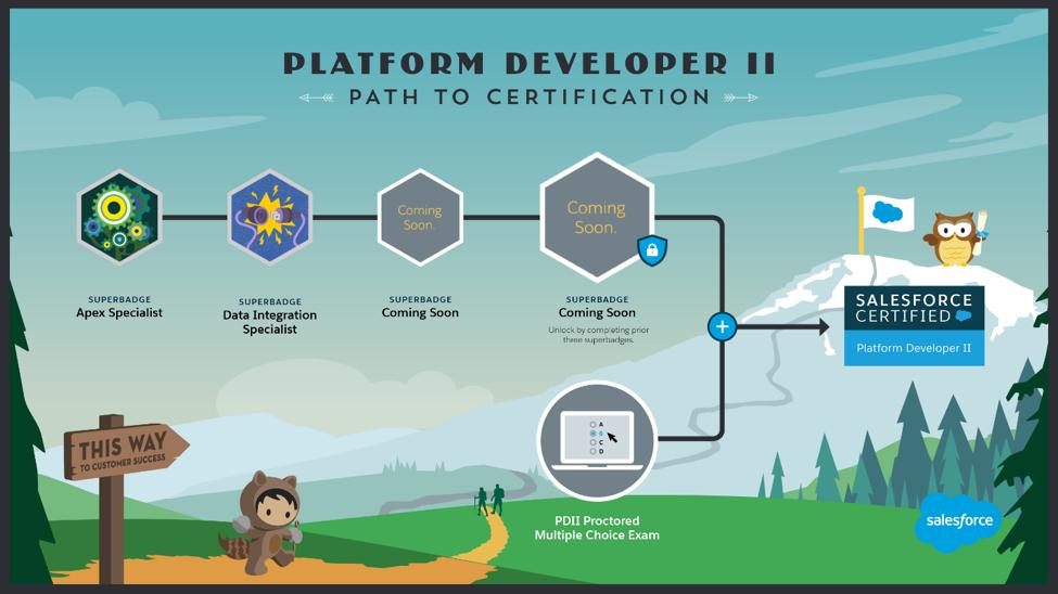 New Salesforce Platform Developer II (PDII) Certification Path