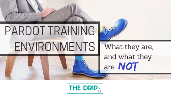 What are Pardot Training Environments? A Run-down of Pardot Sandbox Features - The DRIP