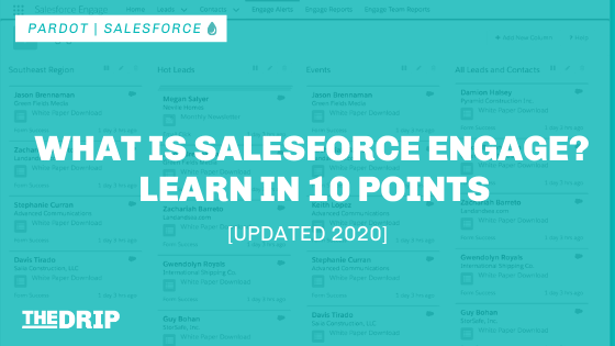 What is Salesforce Engage? Learn in 10 Points [Updated 2020]