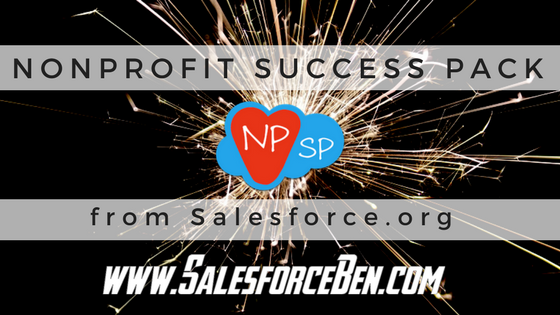 NonProfit Success Pack from Salesforce.org