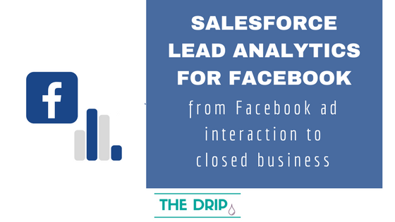 Salesforce Lead Analytics for Facebook: from Facebook Ad Interaction to Closed Business