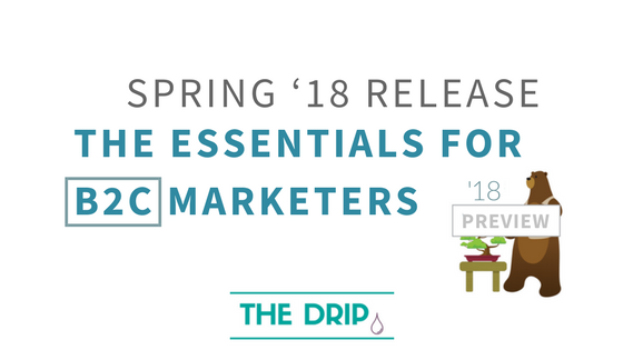 Spring '18 Release: 6 Essentials for B2C Marketers