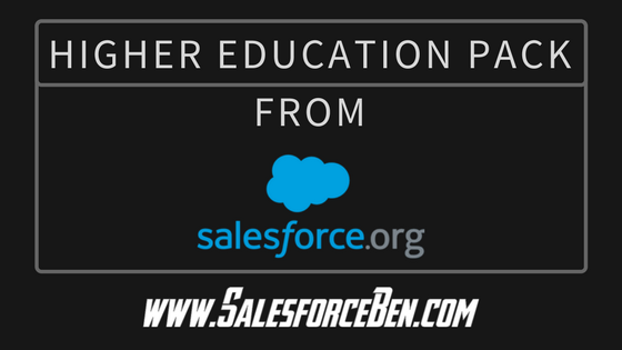 Higher Education Pack from Salesforce.org