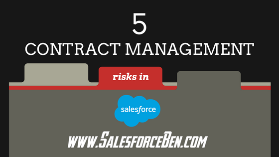5 Contract Management Risks in Salesforce