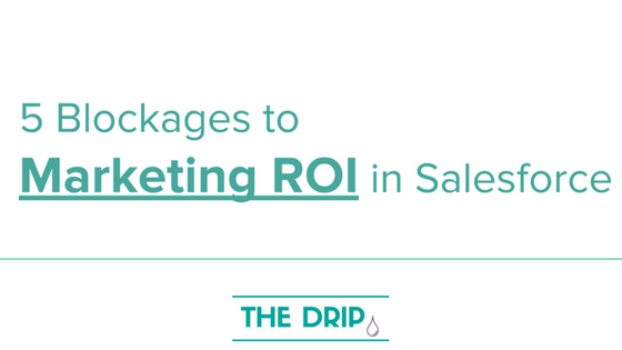 5 Blockages to Marketing ROI in Salesforce