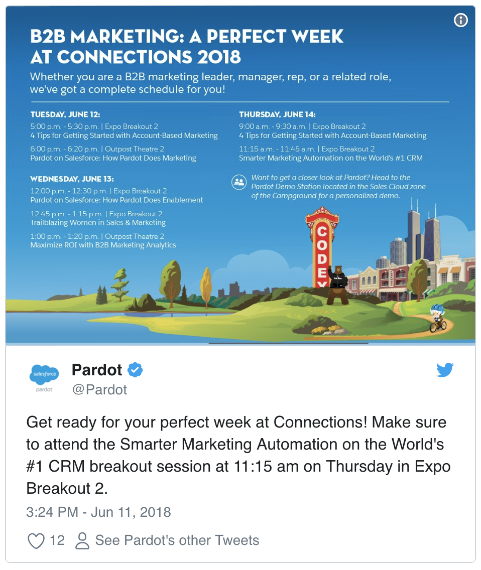 Salesforce Connections Pardot