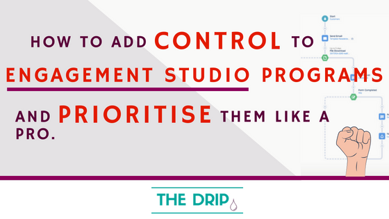 How to add Control to Multiple Engagement Studio Programs - and