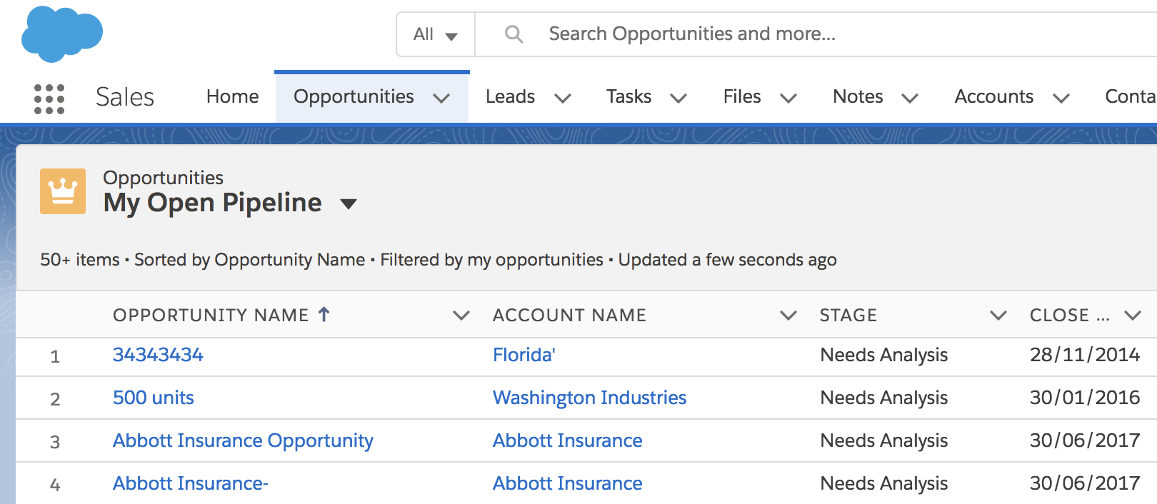 Default List Views in Salesforce - It's Finally Here