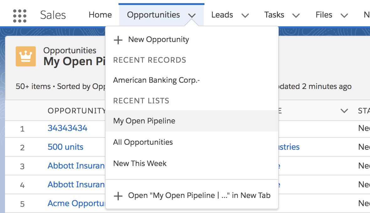 Default List Views in Salesforce – It's Finally Here!