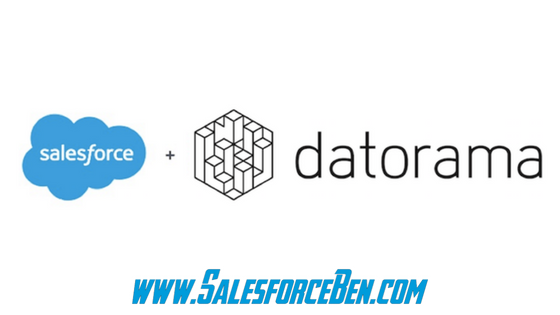 Salesforce Signs Definitive Agreement to Acquire Datorama!