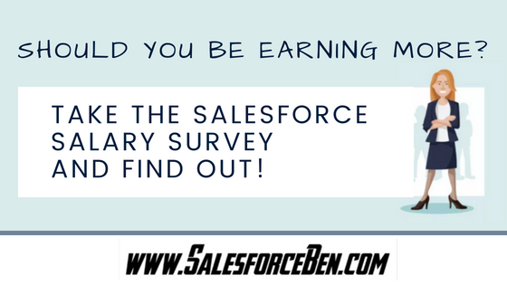 Should you be earning more? Take the Salesforce Salary