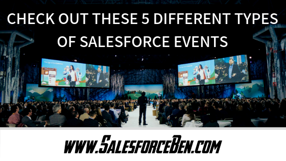 Check Out These 6 Different Types of Salesforce Events