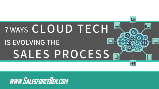 7 Ways Cloud Tech is Evolving The Sales Process
