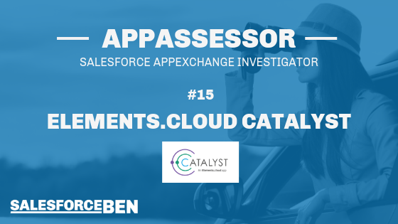 AppAssessor #15: Elements Catalyst