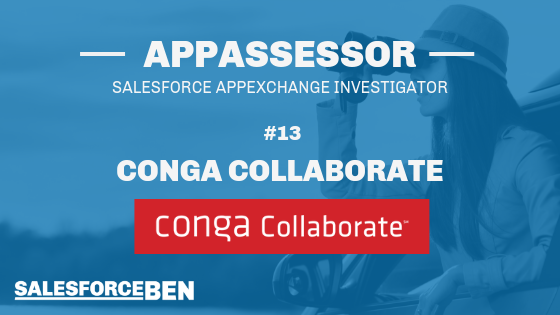 The AppAssessor #13: Conga Collaborate