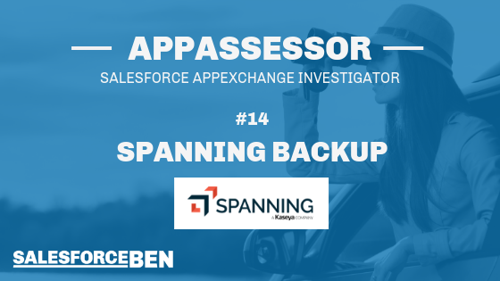 The AppAssessor #14: Spanning Backup