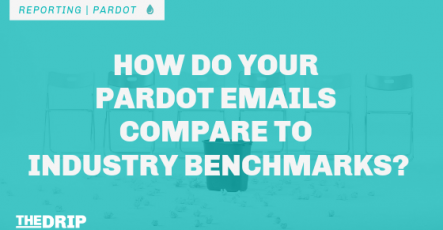 How do your Pardot Emails Compare to Industry Benchmarks?