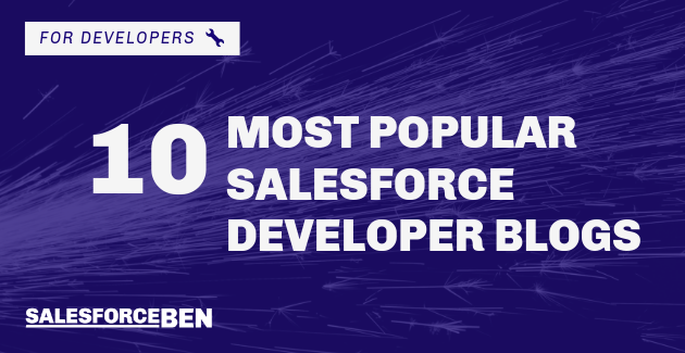 10 Most Popular Salesforce Developer Blogs