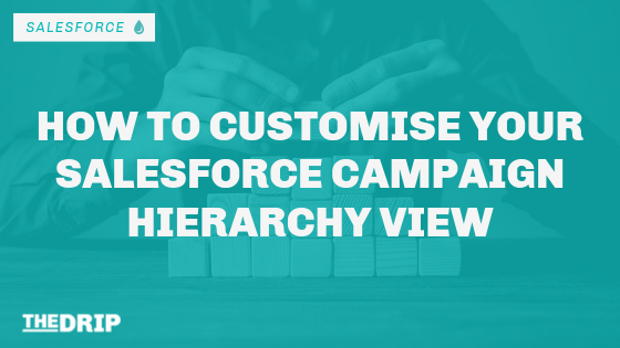How to Customise Your Salesforce Campaign Hierarchy View