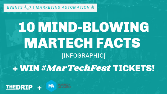 10 Mind-blowing MarTech Facts Infographic + Win Festival Tickets!