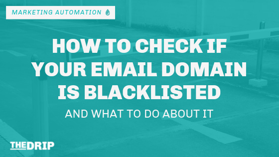 Check If Your Email Domain Is Blacklisted: Here's What to Do About It