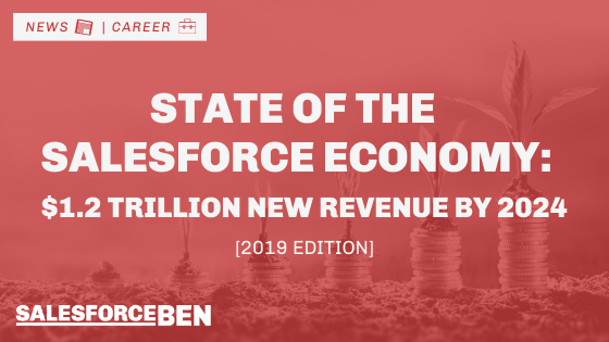 State of the Salesforce Economy: $1.2 Trillion of New Business Revenues Projected by 2024 [2019 Edition]