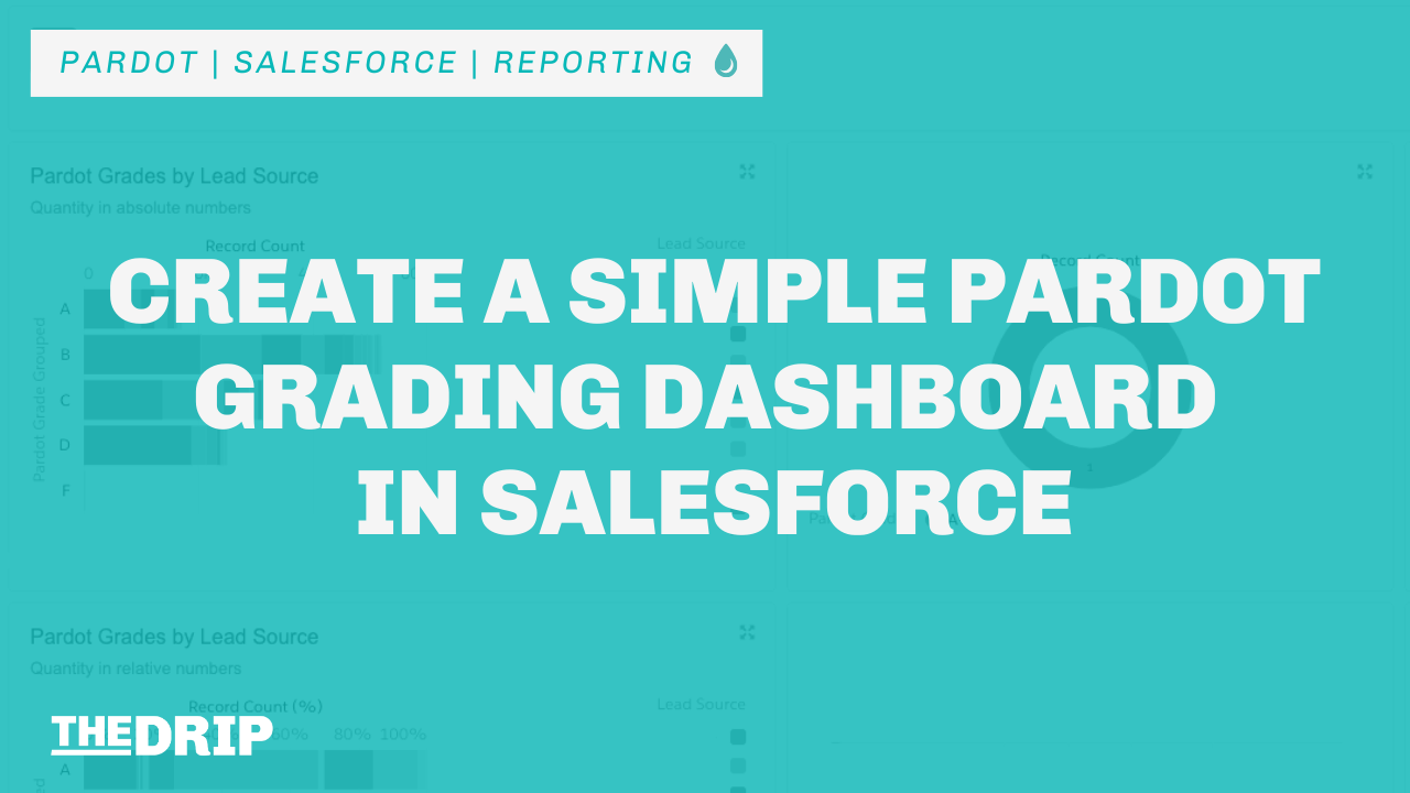 Create a Simple Pardot Grading Dashboard in Salesforce