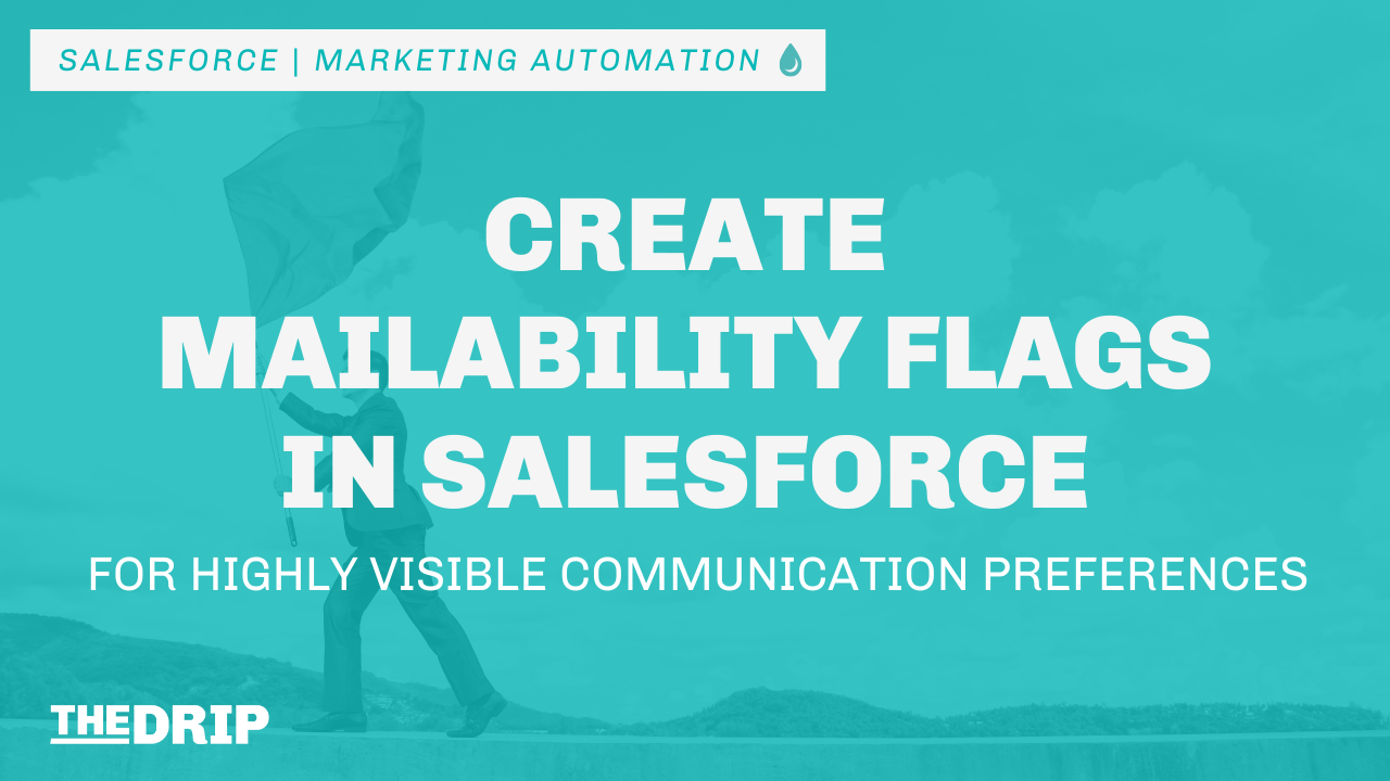 Create Mailability Flags in Salesforce for Highly Visible Communication Preferences