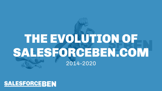 The Evolution of Salesforceben.com: 2014-2020