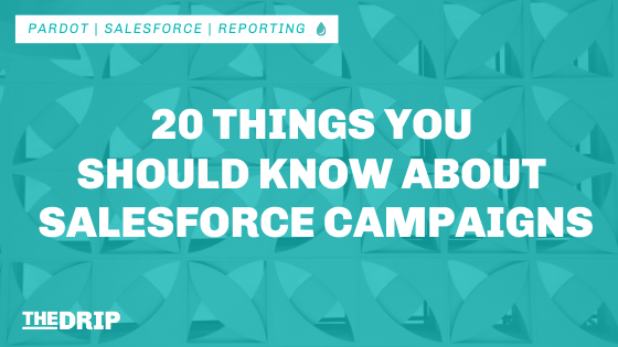20 Things You Should Know About Salesforce Campaigns