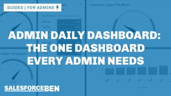 Admin Daily Dashboard: The One Dashboard Every Admin Needs
