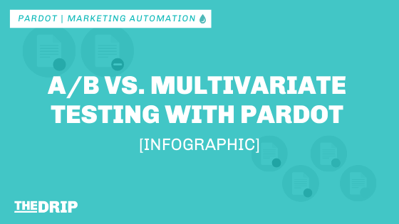 A/B Testing vs. Multivariate Testing with Pardot [Infographic]
