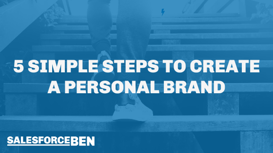 5 Simple Steps to Create a Personal Brand