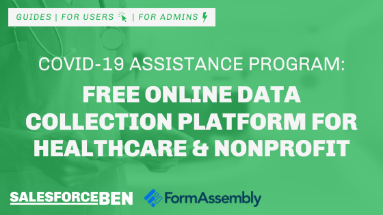 Online Data Collection Platform for Salesforce – Free for Healthcare & Nonprofit
