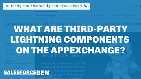 What Are Third-Party Lightning Components on the AppExchange?