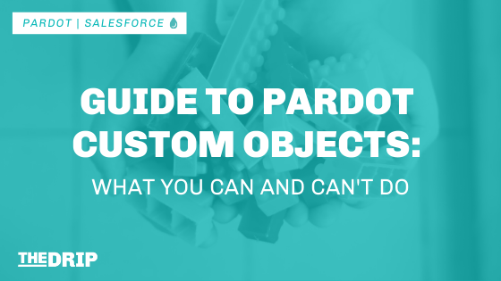 Guide to Pardot Custom Objects – What You Can and Can't Do