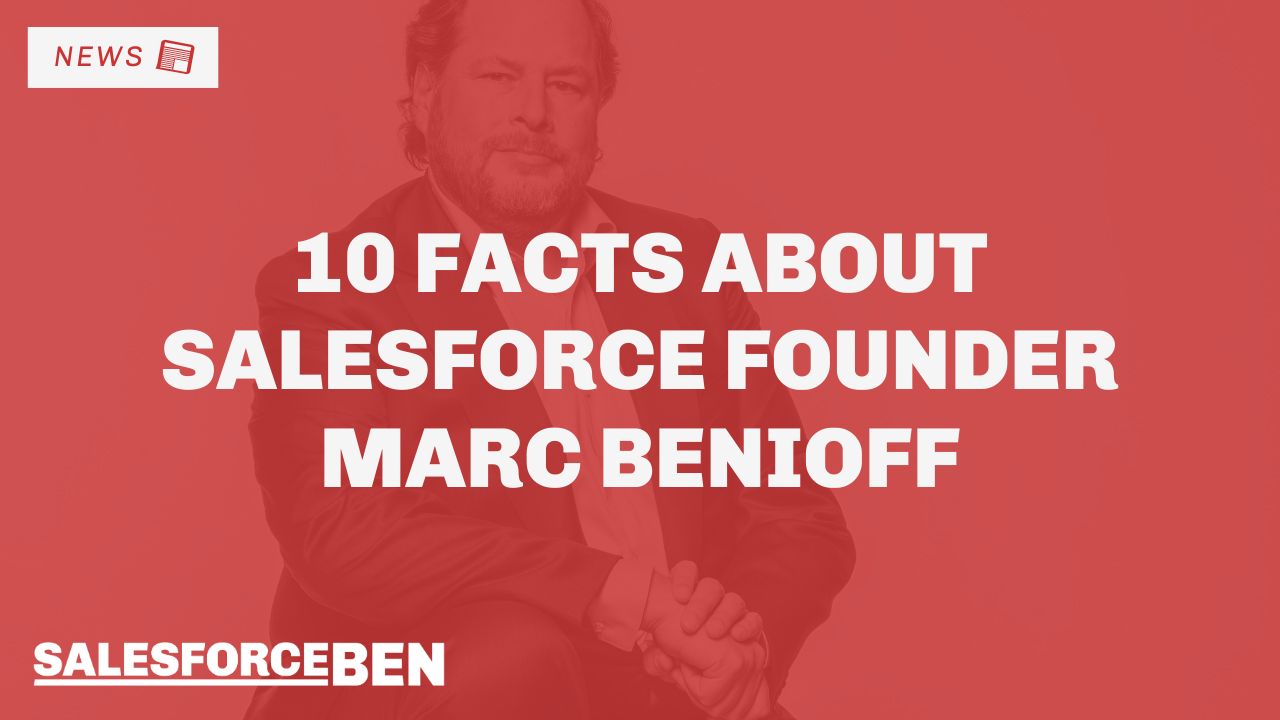 10 Facts about Salesforce Founder Marc Benioff