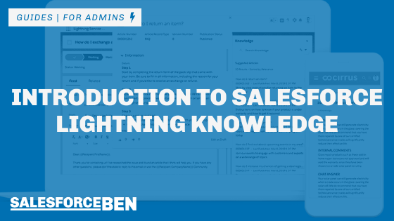 Introduction to Salesforce Lightning Knowledge