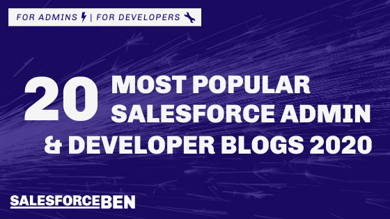 20 Most Popular Salesforce Admin & Developer Blogs 2020