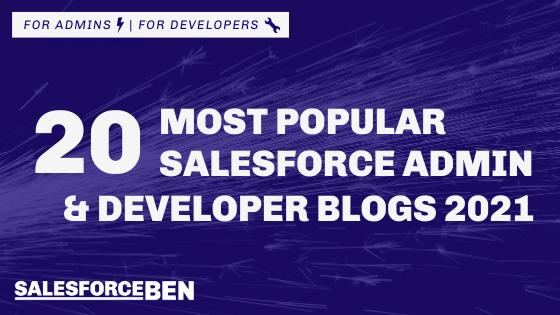 20 Most Popular Salesforce Admin & Developer Blogs 2021