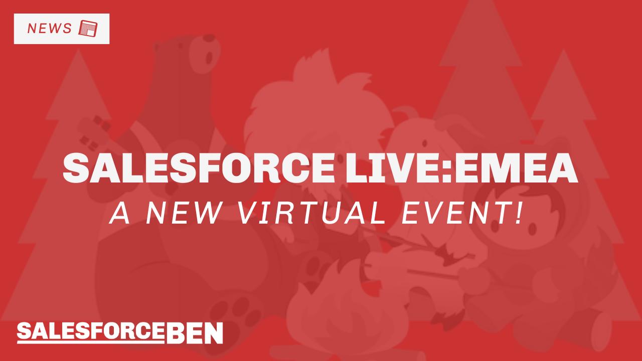 Salesforce Live: EMEA – A New Virtual Event!